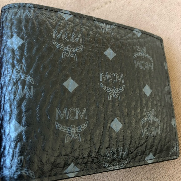 7bedfa433498 ... mcm bags mens claus bifold wallet w card case poshmark ...